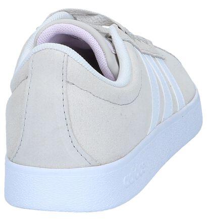 adidas VL Court 2.0 Baskets en Noir en simili cuir (261844)
