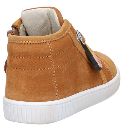 Bumba Chaussures hautes en Brun clair en nubuck (261015)