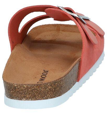 Vero Moda Nu-pieds plates en Pastel en cuir (241095)