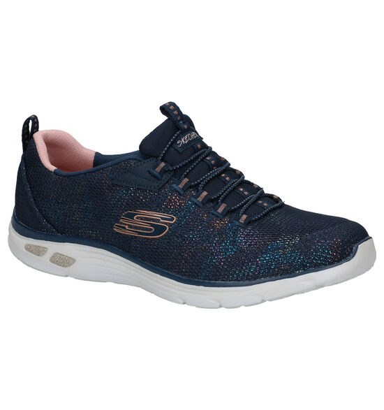 Skechers Relaxed Fit Baskets en Bleu