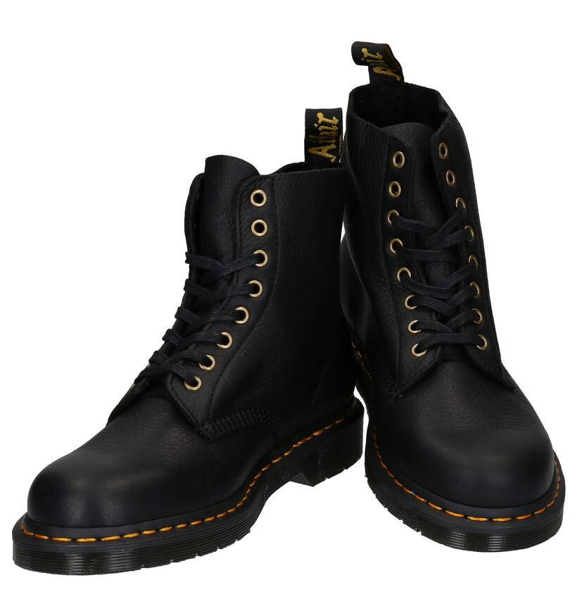 Dr. Martens 1460 Zwarte Boots in leer (277093)