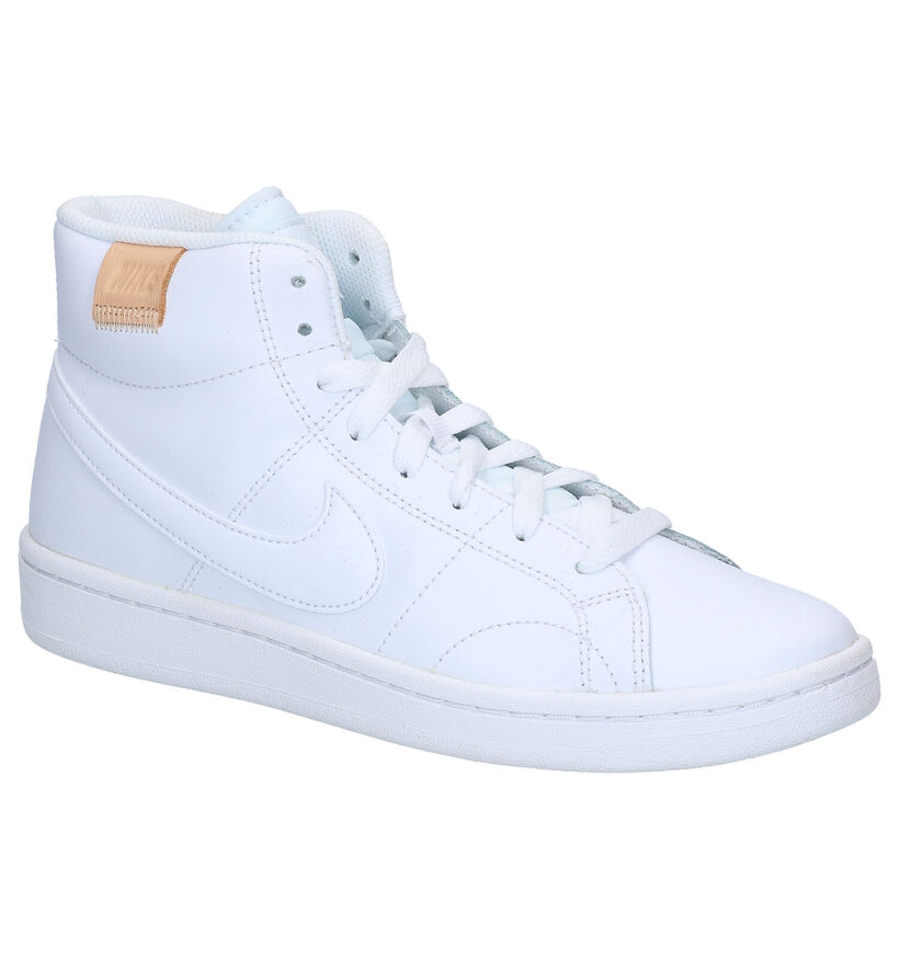 Nike Court Royale 2 Baskets en Blanc en cuir (283863)