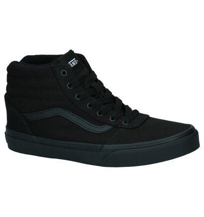 Vans Ward Hi Zwarte Skateschoenen, Zwart, pdp