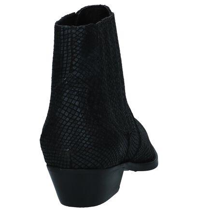 Zwarte Western Boots Bullboxer in nubuck (248685)