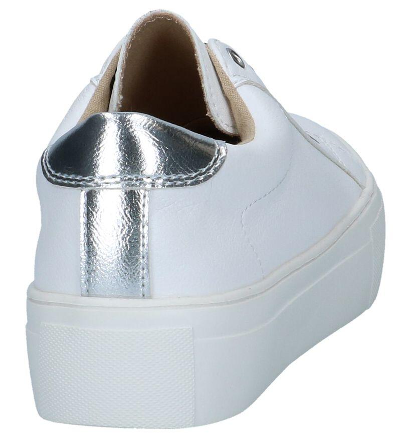 Youh! Chaussures slip-on en Blanc en simili cuir (239194)