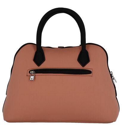 Save My Bag Princess Midi Roze Handtas in stof (245811)
