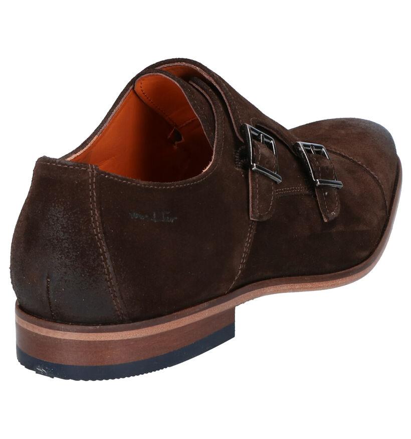 Van Lier Chaussures habillées en Marron en daim (272954)