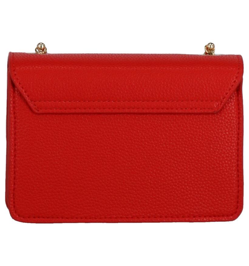Valentino Handbags Sfinge Sac porté croisé en Rouge en simili cuir (275790)