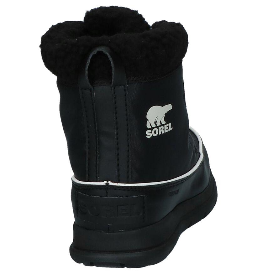 Sorel Bottes de neige en Noir en textile (231099)