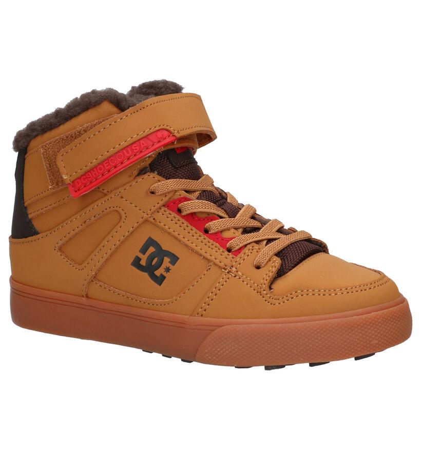 DC Shoes Pure Cognac Skateschoenen in kunstleer (259569)
