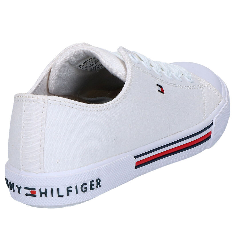 Tommy Hilfiger Witte Sneakers in stof (266557)