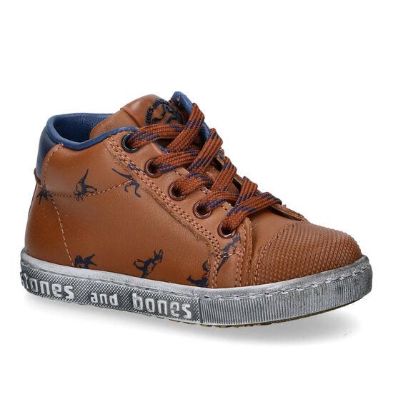 STONES and BONES Misc Chaussures hautes en Cognac
