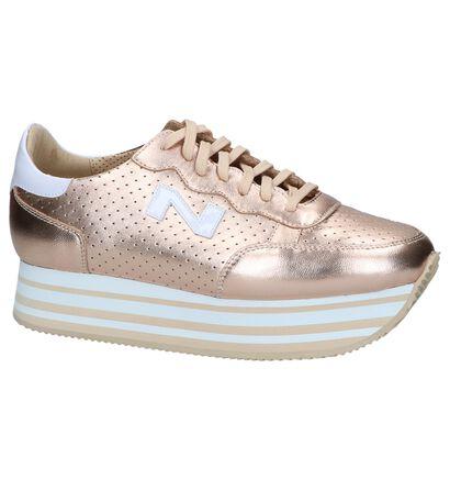 Rose Golden Sneakers Nathan-Baume in leer (246209)