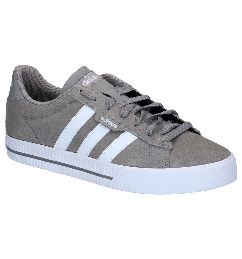 adidas Daily 3.0 Zwarte Sneakers in kunststof (290811)