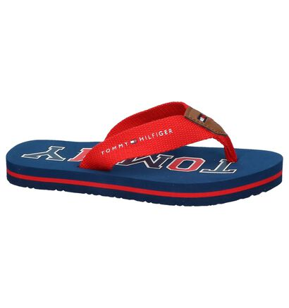 Rode Teenslippers Tommy Hilfiger in stof (239569)