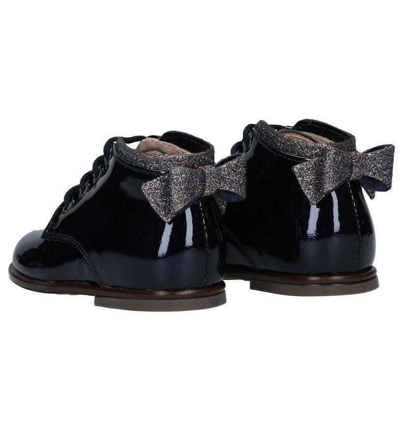 Beberlis Chaussures pour bébé en Bleu en verni (281145)