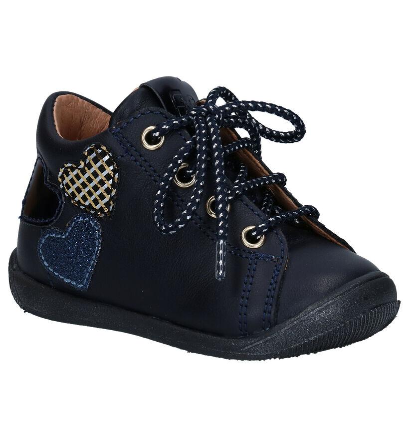 FR by Romagnoli Blauwe Babyschoentjes in leer (282879)