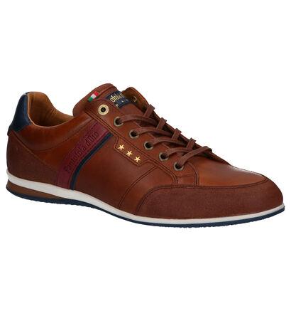 Pantofola d'Oro Roma Chaussures à lacets en Bleu en cuir (257388)