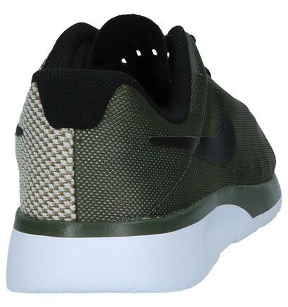 Kaki Runner Sneakers Nike Tanjun Racer GS, Groen, pdp