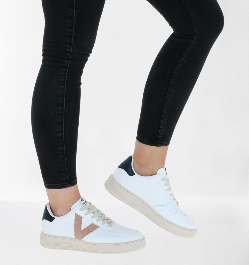 Victoria Chaussures à lacets en Blanc en simili cuir (281929)