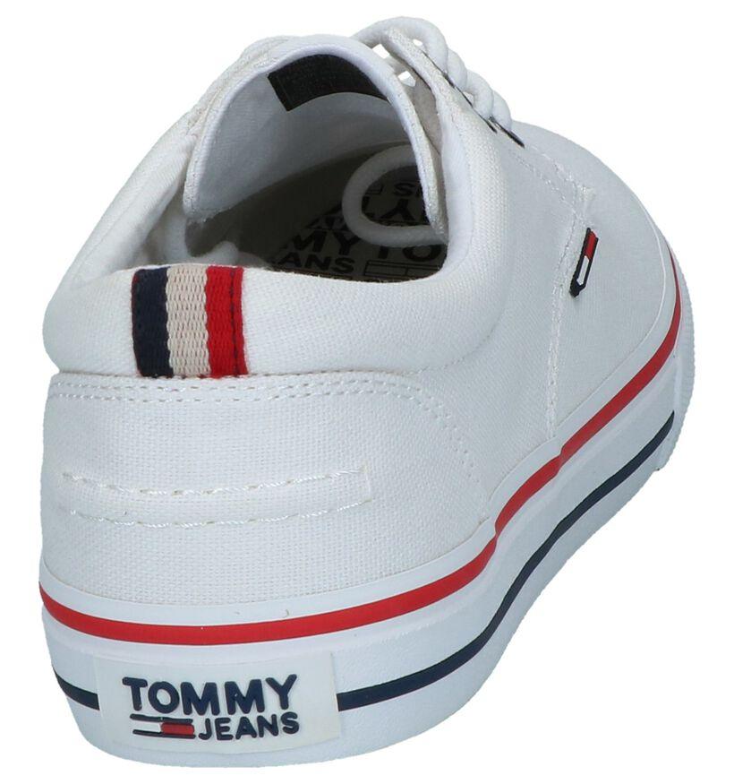 Tommy Jeans Chaussures basses en Blanc en textile (285339)
