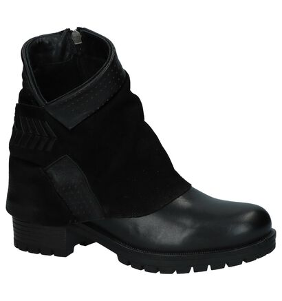 Baboos Zwarte Boots in leer (235322)