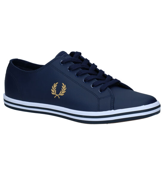 Fred Perry Blauwe Sneakers