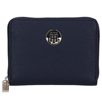 Donkerblauwe Ritsportefeuille Tommy Hilfiger, Blauw, pdp
