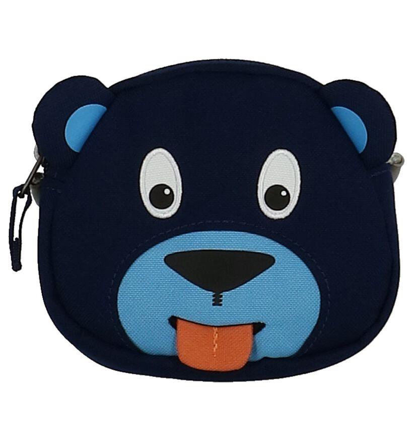 Donkerblauw Crossbody Tasje Affenzahn Bobo Bear in stof (251793)