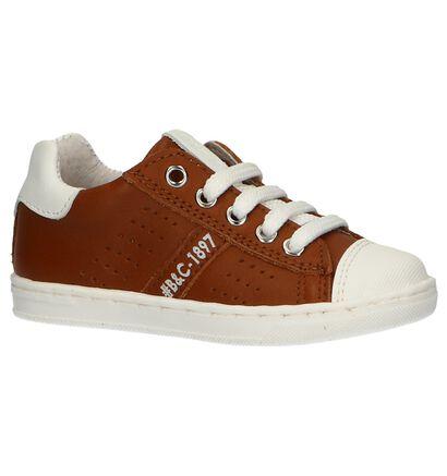 Bana & Co Chaussures basses en Cognac en cuir (247285)