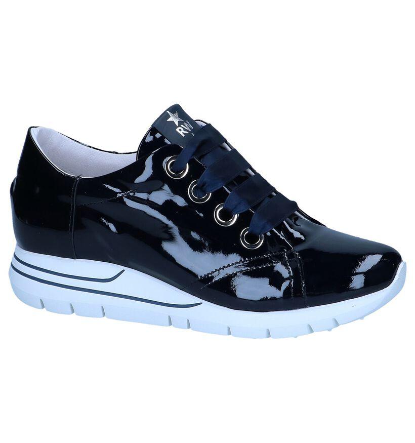 River Woods Chaussures à lacets en Bleu foncé en cuir (253085)