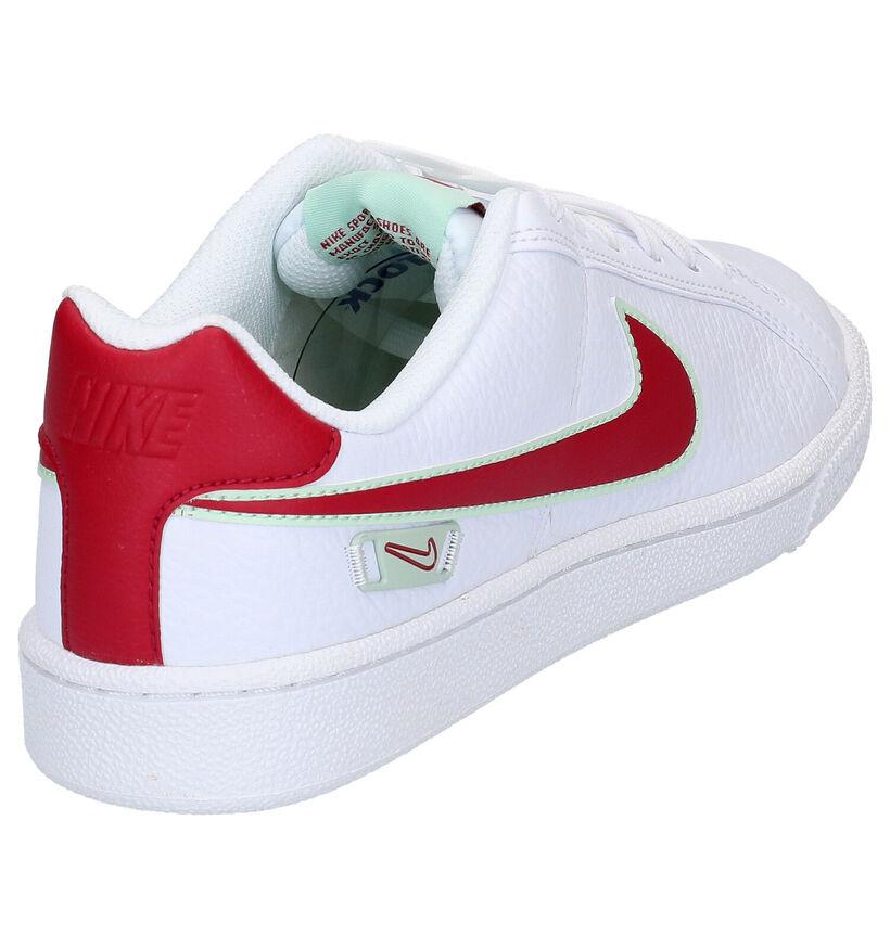 Nike Court Royale Witte Sneakers in kunstleer (265866)