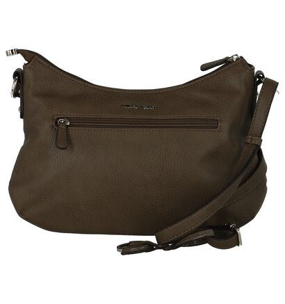 Crossbody Tas Laurent David Camille Rood, Taupe, pdp