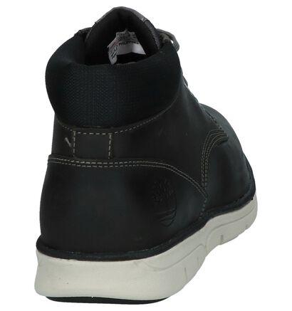 Timberland Bradstreet Chukka Chaussures hautes en Gris en nubuck (222743)