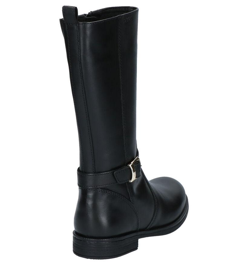 Geox Laarzen Zwart in leer (254480)