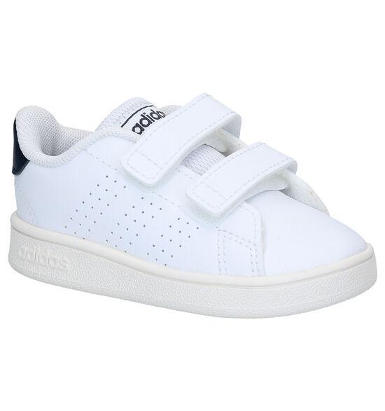 adidas Advantage I Baskets pour bébé en Blanc