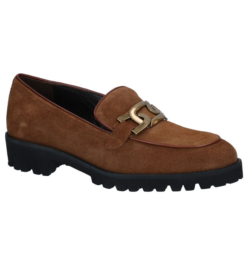 JHay Bruine Loafers in daim (298767)