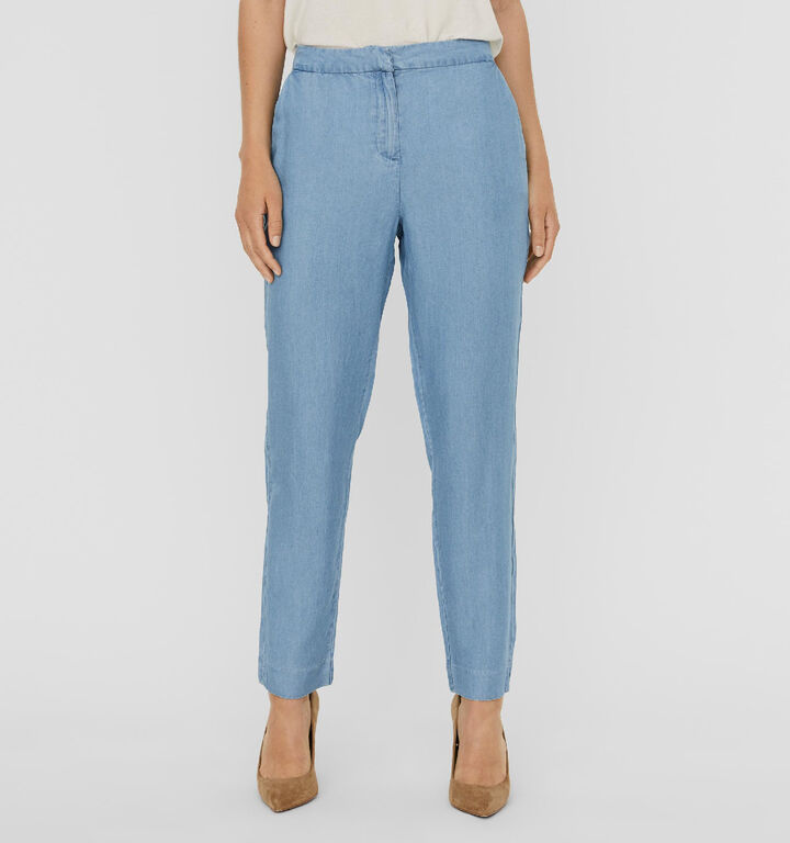 Vero Moda Vivianakon Pantalon en Bleu - L30