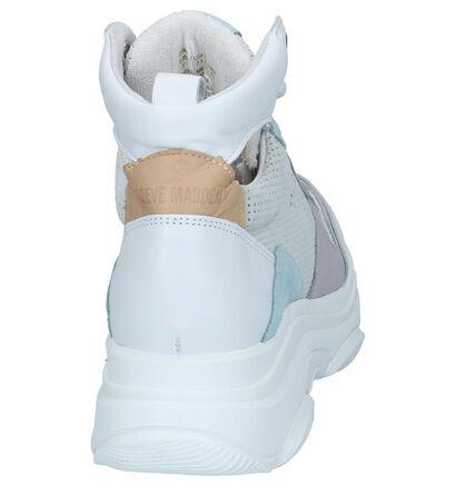 Steve Madden Zova Baskets en Blanc en cuir (236928)