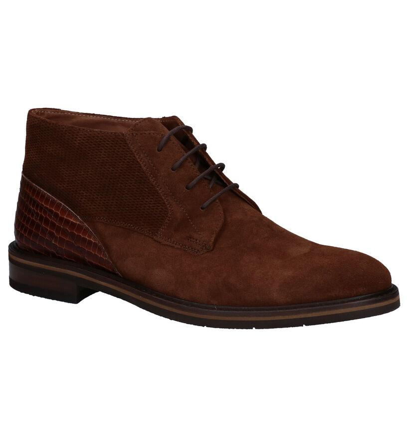 Ambiorix Floyd-b B Chaussures Habillées en Brun en daim (283935)