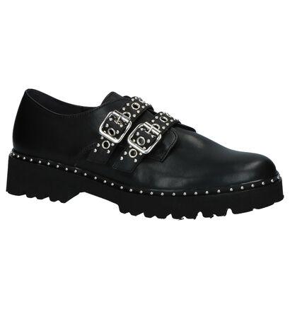 Gabor Best Fitting Chaussures slip-on en Noir en cuir (231253)