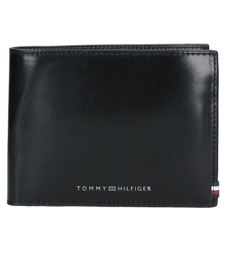 Tommy Hilfiger Zwarte Portefeuille in leer (276524)