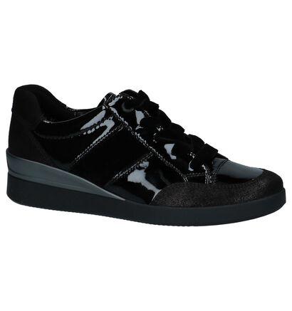 Ara Chaussures à lacets en Noir en cuir (232419)