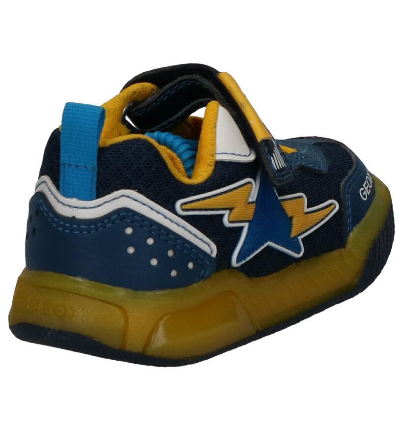 Geox Blauwe Sneakers in leer (265796)