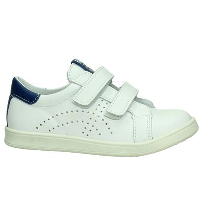 Bopy Witte Velcroschoenen, Wit, pdp