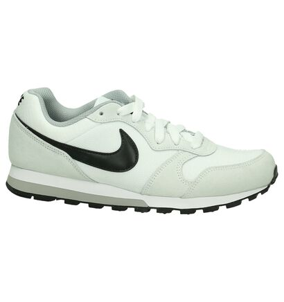 Nike MD Runner Witte Lage Sneakers, Wit, pdp