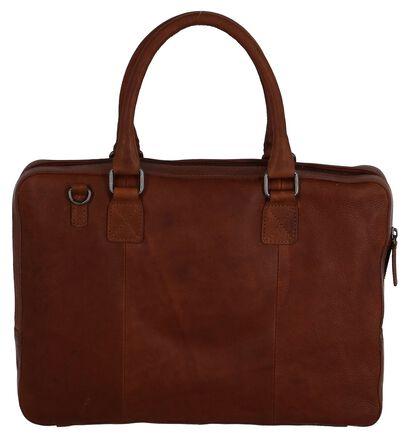 Burkely Sacs d'ordinateur portable en Cognac en cuir (249367)