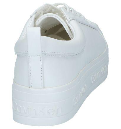 Witte Sneakers Calvin Klein Jaelee in leer (241695)