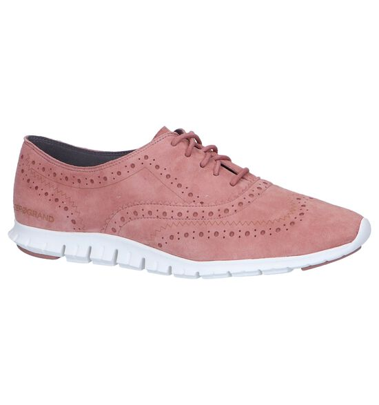 Cole Haan Chaussures à lacets en Rose foncé