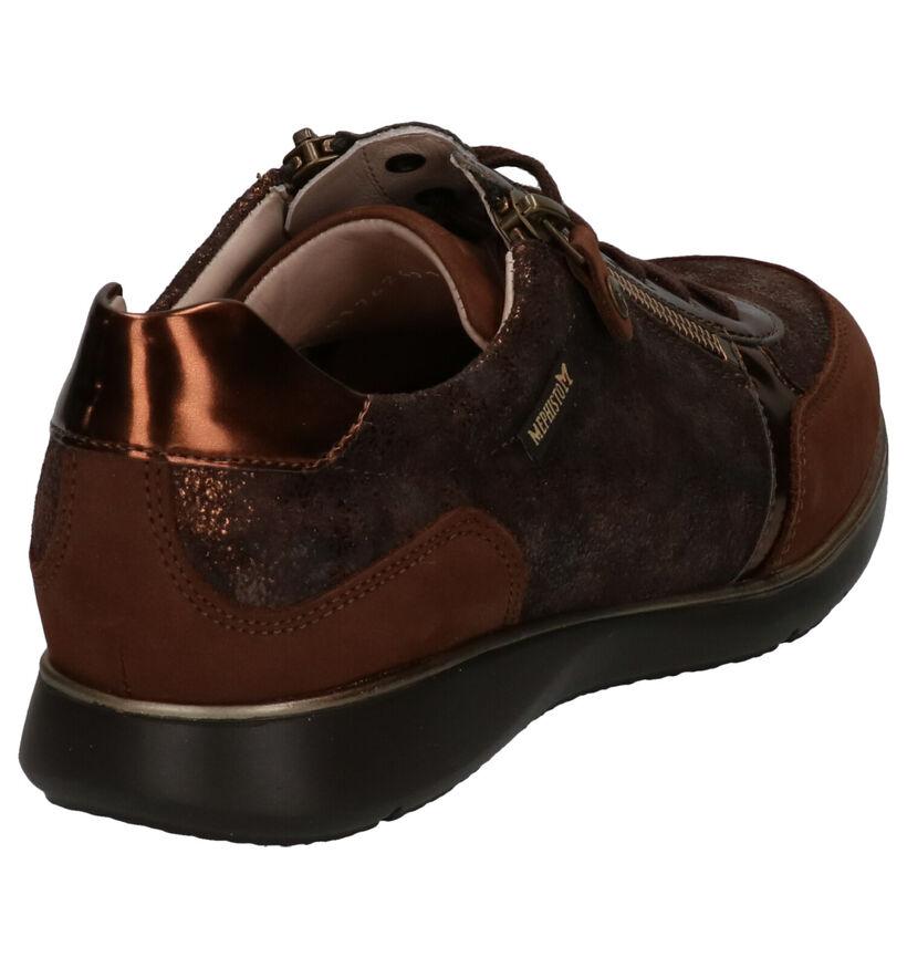 Mephisto Monio Chaussures Basses en Bronze en nubuck (259674)